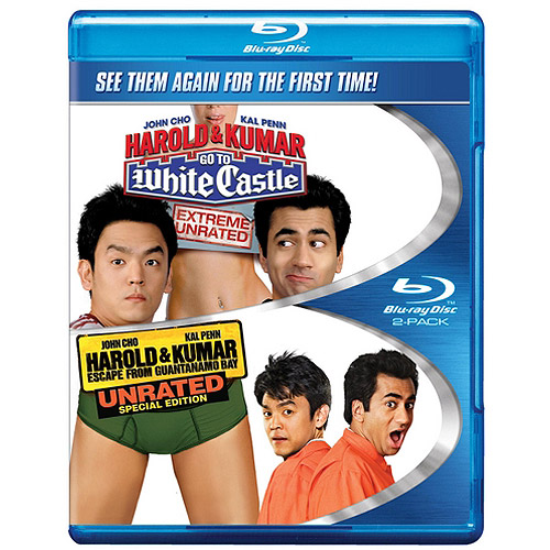 Harold And Kumar Go To White Castle (Unrated) / Harold And Kumar Escape From Guantanamo Bay (Unrated) (Blu-ray) (Widescreen)