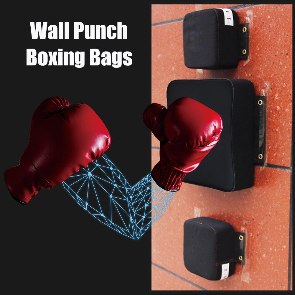 square PU leather wall punch bag Boxing bag