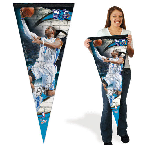 NBA - Chris Paul Pennant: 17x40 New Orleans Hornets Premium Pennant