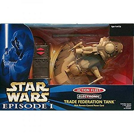 Star Wars Action Fleet Electronic Trade Federation Tank (Action Tank)