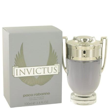 Invictus by Paco Rabanne - Eau De Toilette Spray 3.4 oz
