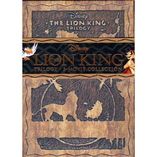 The Lion King Trilogy Collection [Diamond Edition] [8 Discs] [3D] [Blu-ray/Dvd] [Blu-ray]
