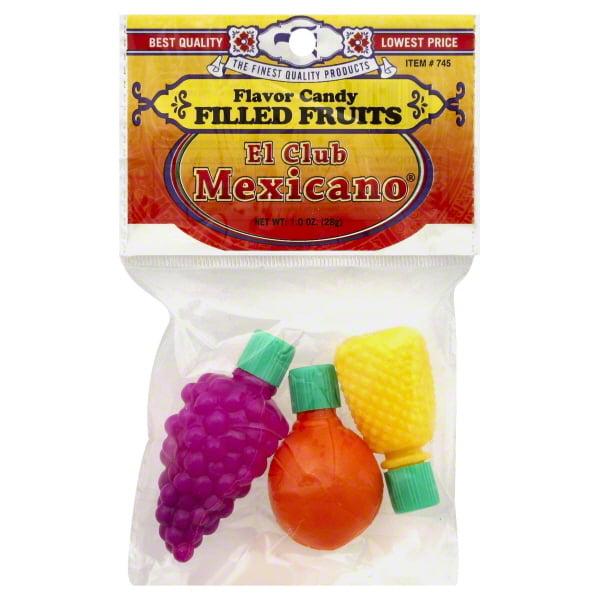 El Club Mexicano El Club Mex Candy Filled Fruit
