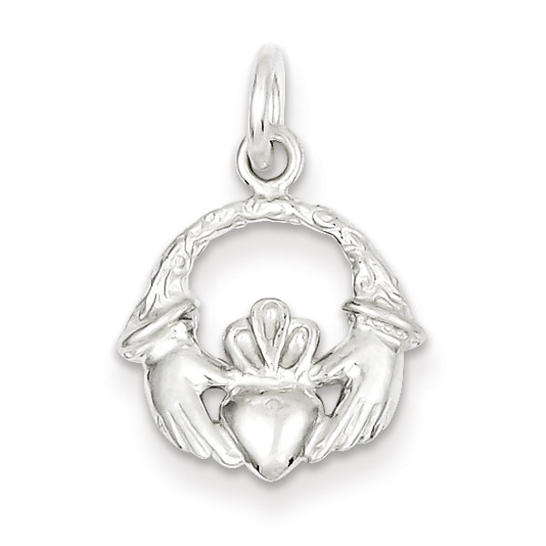 Sterling Silver Claddagh Charm