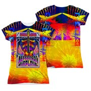 Jefferson Airplane  San Francisco  Girls Jr Sublimation White