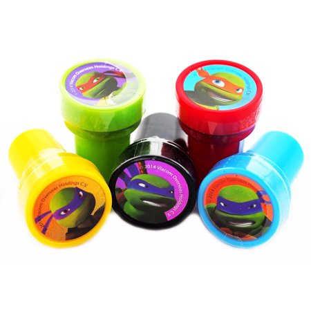12 Ninja Turtles  Authentic Licensed Self Inking Stampers (Authentic Ninja Suit)