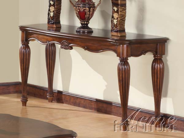 sofa table in living room. Simple Relax 1PerfectChoice Dreena Occasional Living Room Entry Console Sofa  Table Carved Wood In Cherry Sofa Table In Living Room T