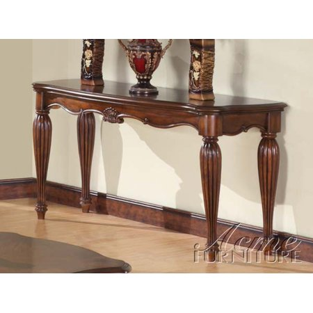 Astounding Simple Relax Dreena Occasional Living Room Entry Console Sofa Table Carved Wood In Cherry Dailytribune Chair Design For Home Dailytribuneorg