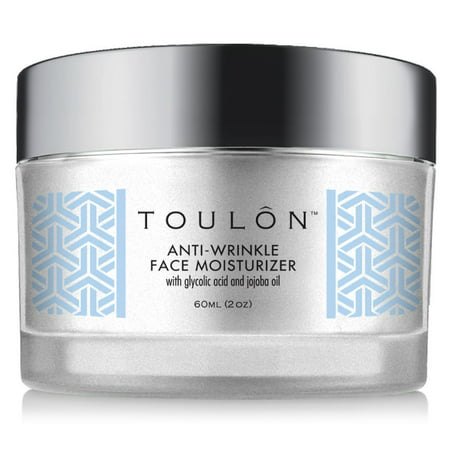 TOULON Glycolic Acid Cream 10% Face Moisturizer with Vitamin C &Grapeseed Oil 60