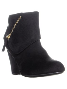 2a9057592005 Product Image Womens Rebel Senia Zip Up Wedge Ankle Boots