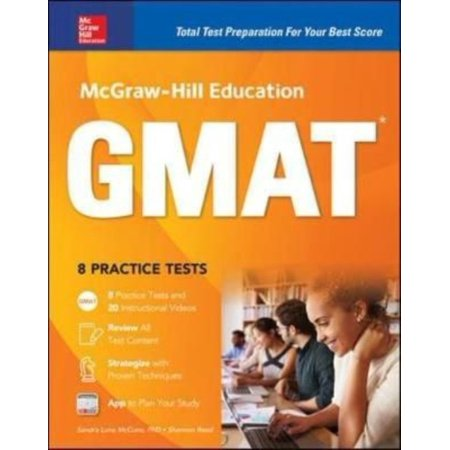 Mcgraw Hill Education Gmat 2018