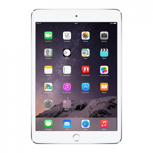 Pre-Owned iPad Mini 3 Retina Wifi Silver 16GB (MGNV2LL/A)(2014)