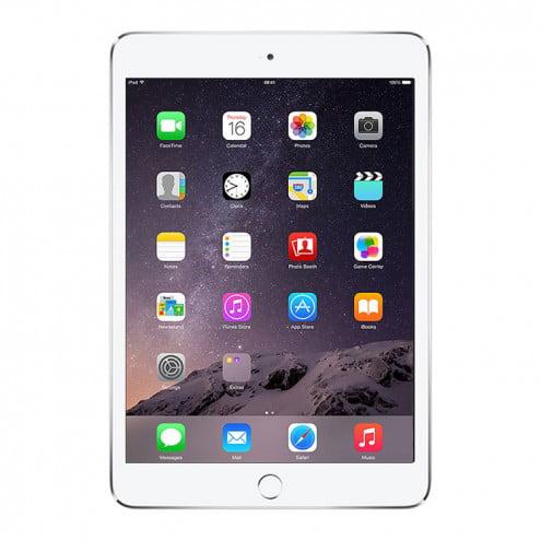 Refurbished iPad Mini 3 Retina Wifi Silver 64GB (MGGT2LL/A)(2014) 1 Year Warranty