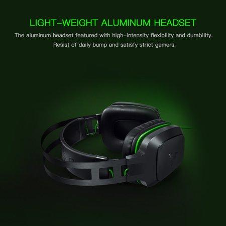 Electra 7.1 V2 Gaming Headset Analog Digital Surround Sound Custom Tuned Drivers Headphone with Mic - image 4 de 7