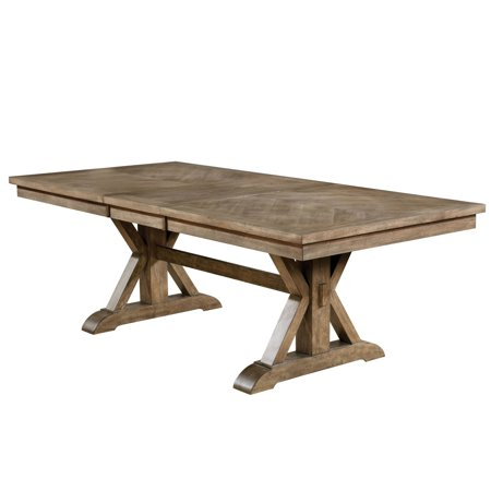 Furniture of America Cooper Rustic 90-inch Light Oak Dining Table by FOA - Light Oak ()