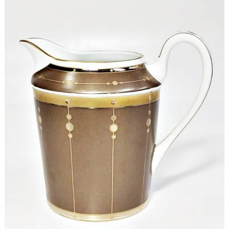 Haviland Limoges Tambour Bronze Creamer, Holds 7oz Haviland Limoges Set