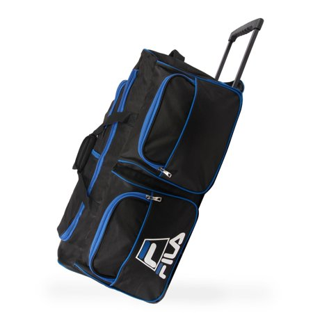 Fila  8-pocket 30-in Rolling Duffel Bag