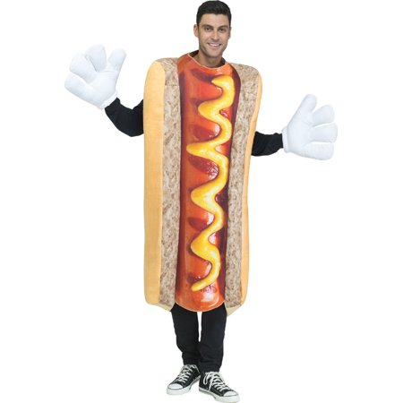 Hot Dog Photo-Real Costume](Hot Dog Bun Costume)