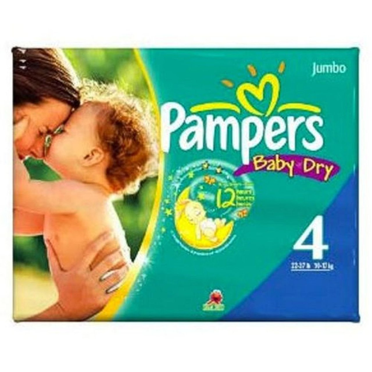 4 PACKS : Pampers Diapers Size 4 by Pampers