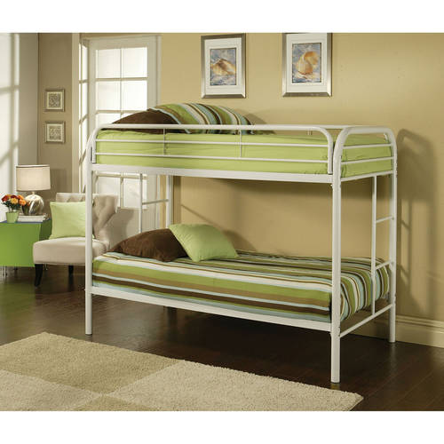 Acme Eclipse Twin Over Twin Metal Bunk Bed Multiple Colors