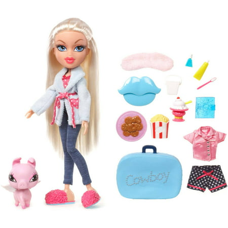 Girls Sleepover Set - Bratz Sleepover Party Doll, Cloe