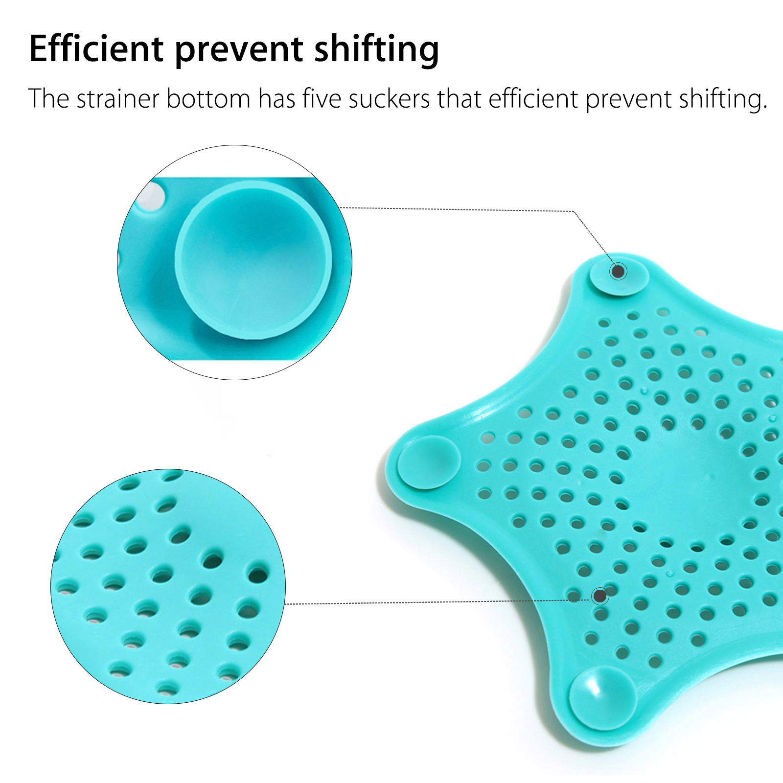 Sink Strainer Hair Stoppers, Bathroom Kitchen Sink Strainer Basket ...