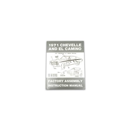 Eckler's Premier  Products 55-191711 El Camino Factory Assembly Manual, ()