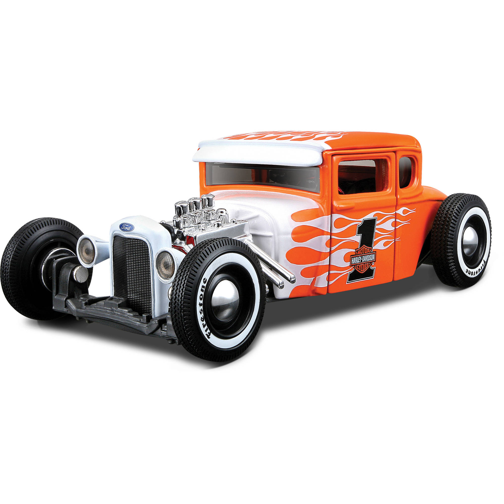 Harley Davidson Themed 1:24 Ford 1929 Model A by Generic