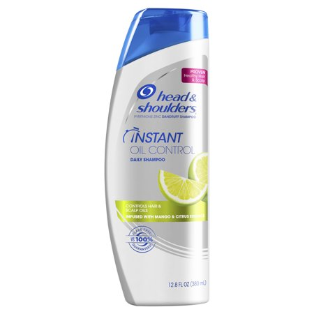 Head and Shoulders Instant Oil Control Daily-Use Anti-Dandruff Shampoo, 12.8 fl