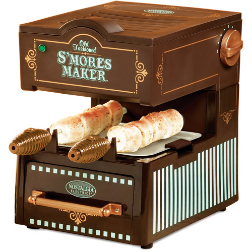 Nostalgia Electrics Old Fashioned S'Mores Maker