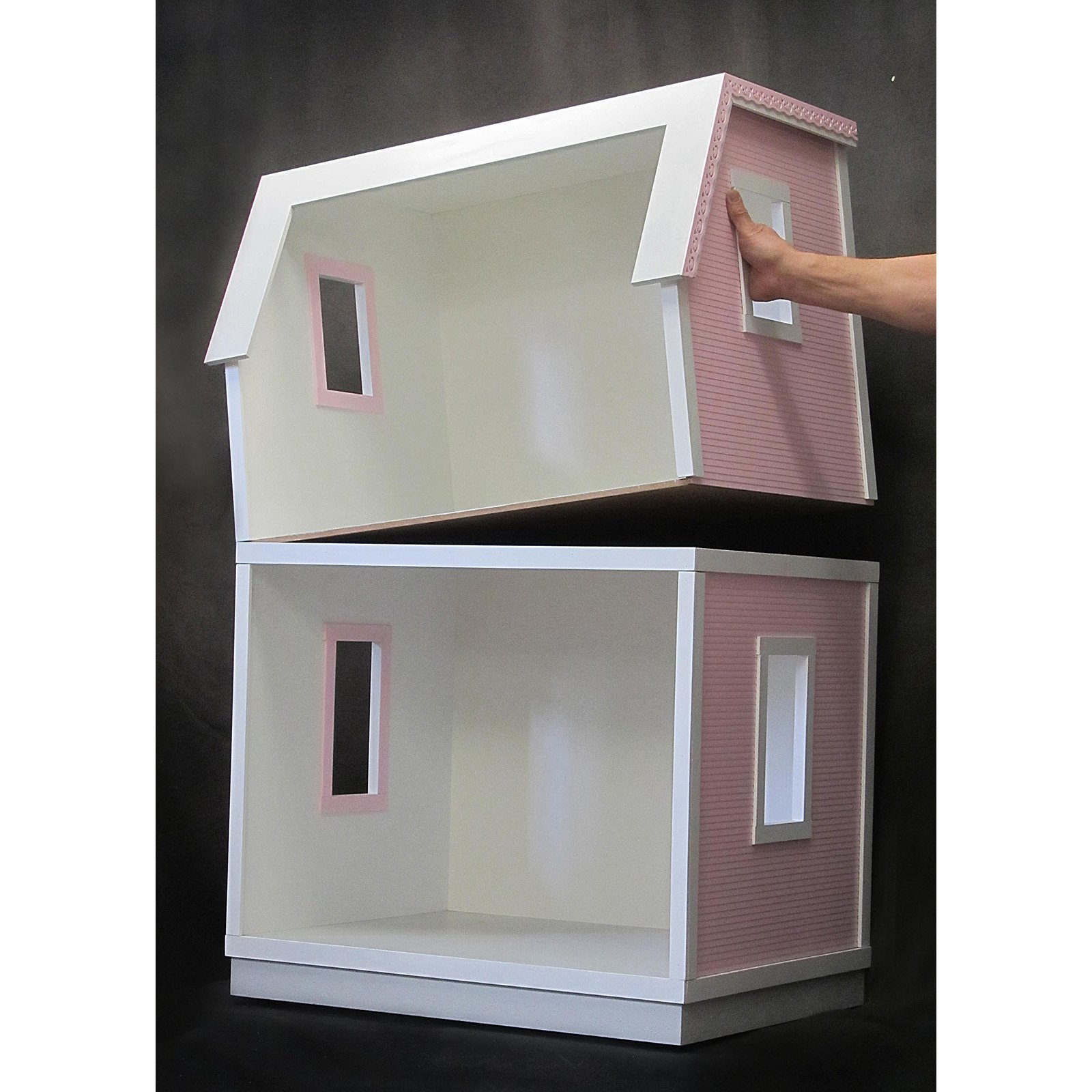 Real Good Toys My Dreamhouse Dollhouse Kit for 18 in. Dolls ...