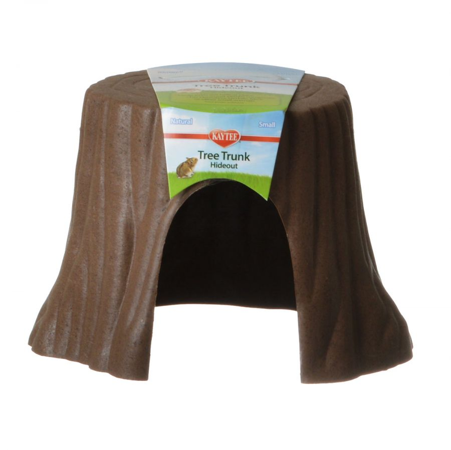 "Kaytee Natural Stump Hide Out Small (5.5""L x 5""W x 3.8""H) - Pack of 3"