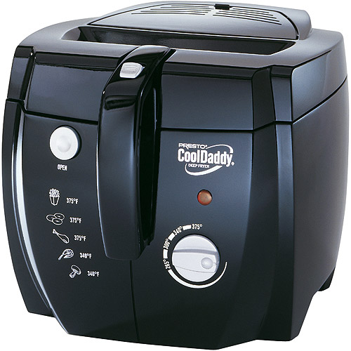 Presto Cool Daddy Cool Touch Deep Fryer