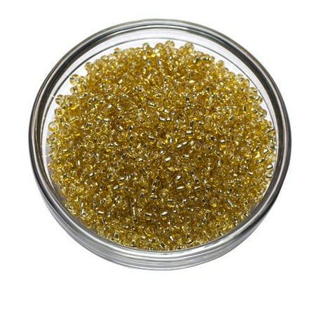 Gold Roundel Bead (Cousin Gold Seed Beads, 40g)