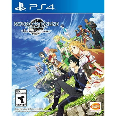 Sword Art Online: Hollow Realization, Bandai/Namco, PlayStation 4, (Best Campaign Games Ps4)