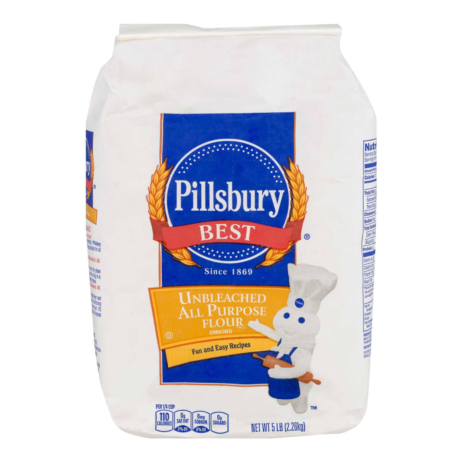 Pillsbury Best Unbleached All Purpose Flour, 5.0 LB