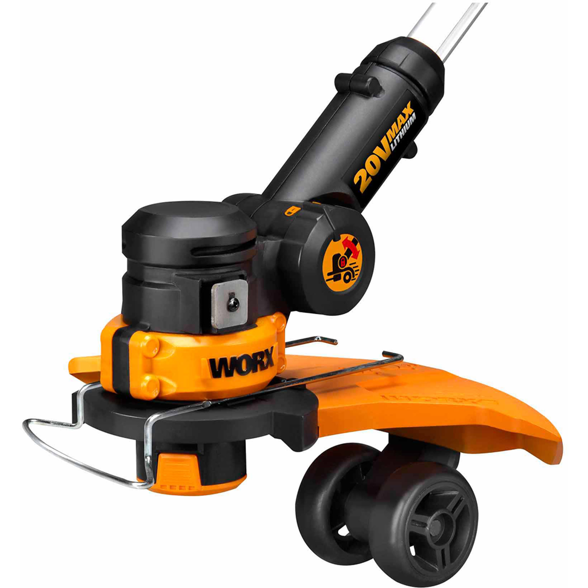 Worx WG160 20V Cordless Lithium Ion 12 in Straight Shaft Trimmer