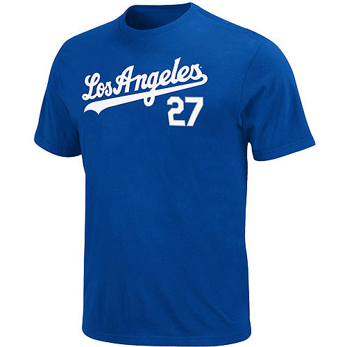 MLB Big Men's Los Angeles Dodgers Matt Kemp Short-Sleeve Player Tee