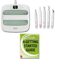 Cricut EasyPress 2 Machine, 9x9 Press Safety Base, 5PC Weeder Tool Kit Bundle
