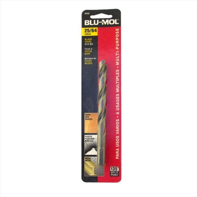 Disston 6650 Blu-Mol 0.39 In. Diameter Black Oxide Jobber Drill Bit