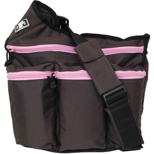 Diaper Dude Diaper Diva Bag, Brown and Pink