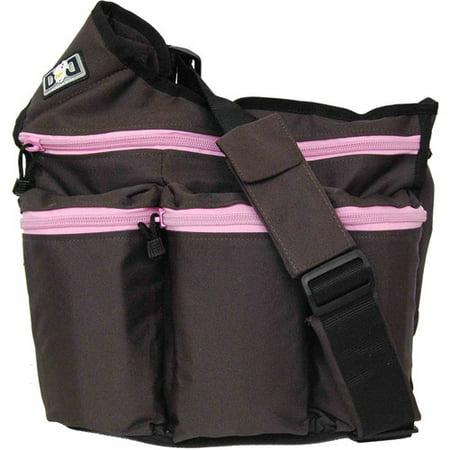Diaper Dude Diva Bag Brown And Pink