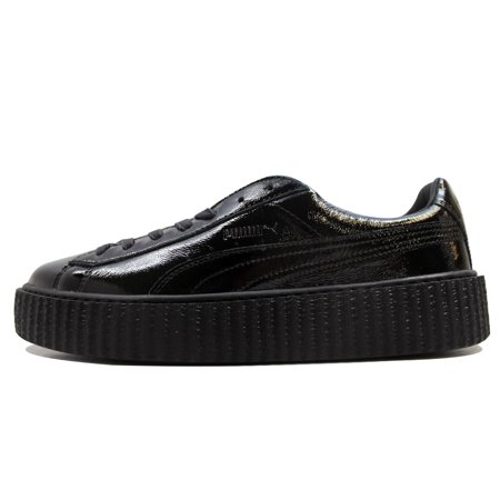 online store 2149f 352a8 Puma Men's Creeper Cracked Leather Fenty X Puma Puma X Fenty Rihanna Puma  Black 364641-01