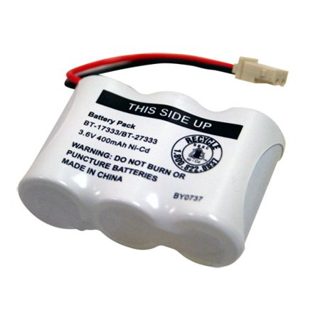 Replacement For VTech BT17233 Cordless Phone Battery (400mAh, 3.6V, NiCD)