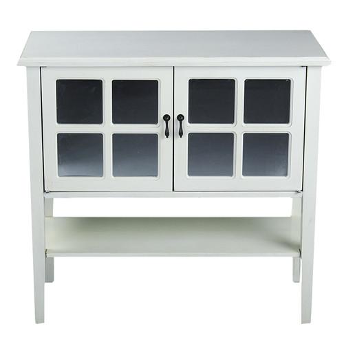 Heather Ann Creations 2 Door Console Cabinet