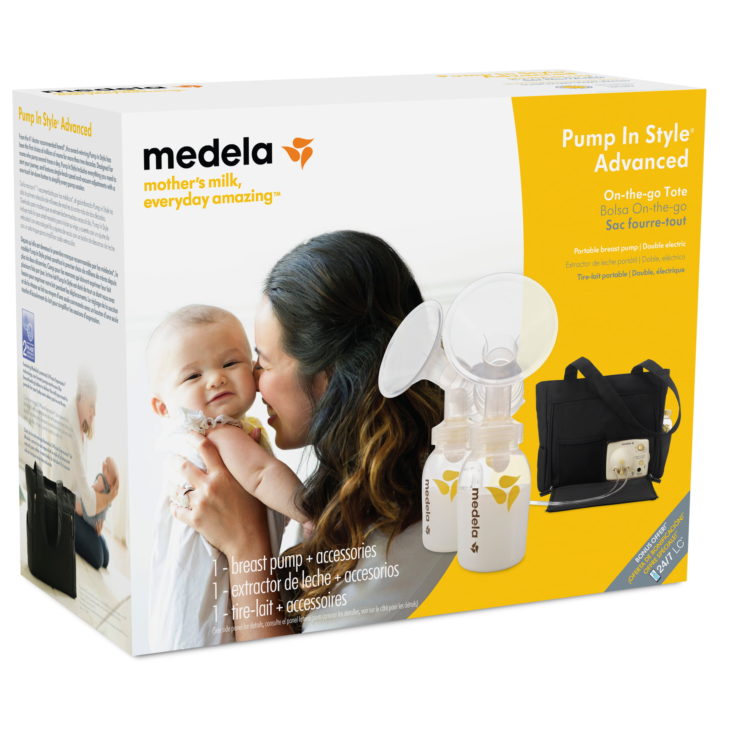 Medela Pump In Style Advanced Breast Pump With On The Go Tote With
