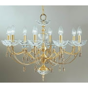 27 in. Devonshire Chandelier (Satin Bronze)