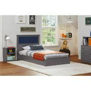 Ameriwood Home Skyler Bed, Twin, Multiple Colors, With Reversible Headboard