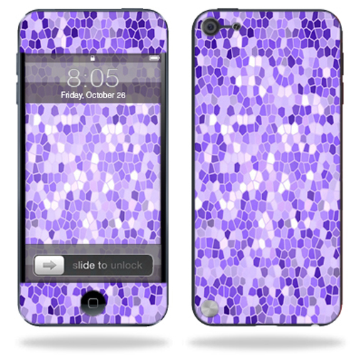Mightyskins Protective Skin Decal Cover for Apple iPod Touch 5G (5th generation) MP3 Player wrap sticker skins Stained Glass