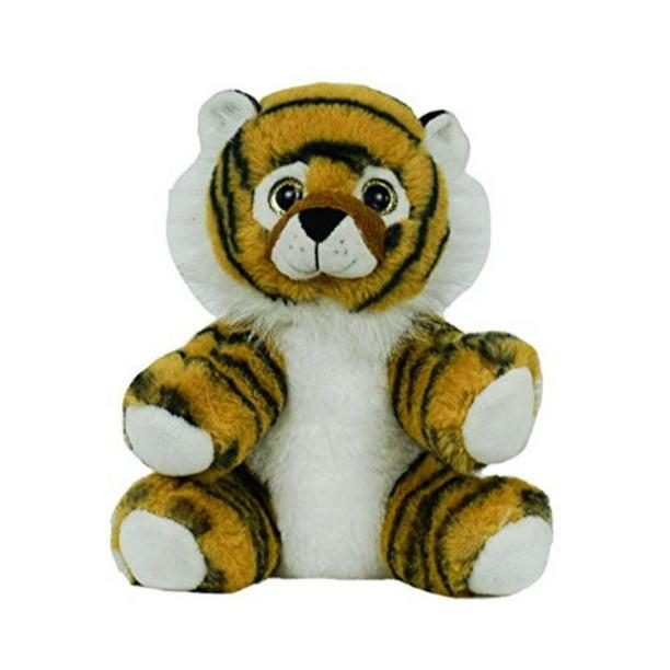 Recordable Teddy Bear Walmart, Bearegards Personal Recordable Talking Teddy Bear 8 Tiger With 20 Sec Digital Recorder Walmart Com Walmart Com